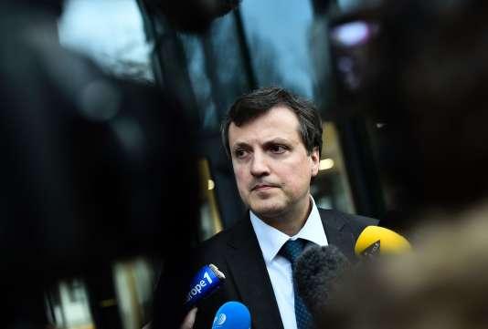 Le directeur général de Biotrial, François Peaucelle, le 16 janvier à Rennes.