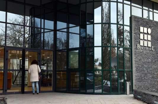 Le laboratoire Biotrial à Rennes, où a été mené l'essai clinique, le 16 janvier.