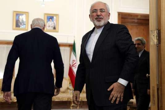 Le Ministre iranien des affaires étrangères Javad Zarif à Téhéran le 10 janvier 2016.