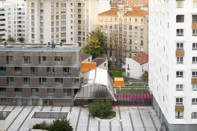 Le centre social Saint-Blaise, à Paris.