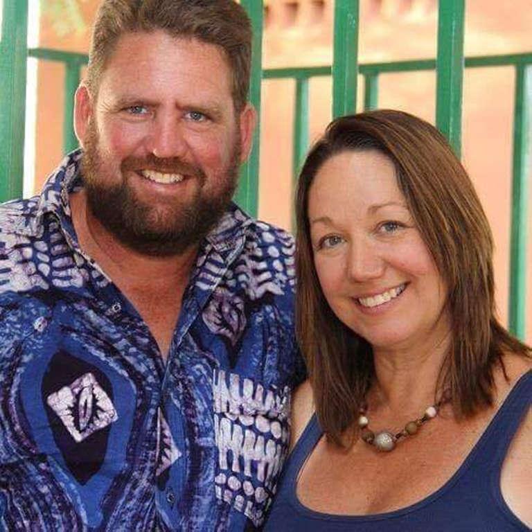 Michael Riddering et sa femme Amy Boyle Riddering. L'Américain de 45 ans, installé au Burkina Faso, a été tué le 15 janvier 2016.