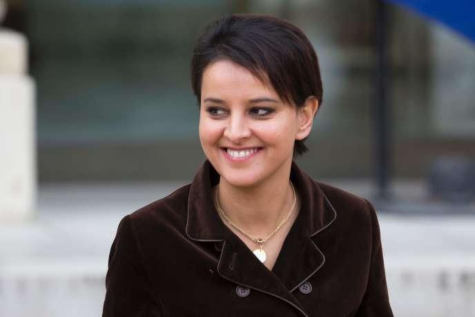Najat Vallaud-Belkacem, à Paris, le 13 janvier 2016.