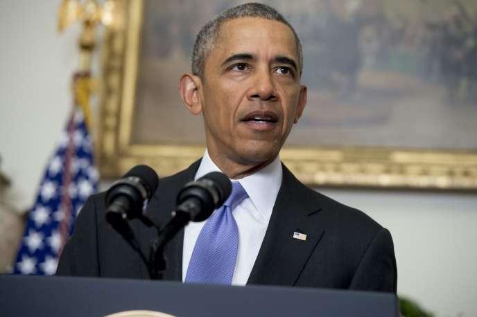 Le président Obama, le 17 janvier à la Maison Blanche.