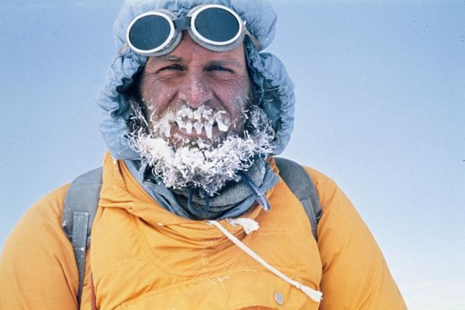 L'alpiniste autrichien Kurt Diemberger dans le documentaire italien de Luca Bich,