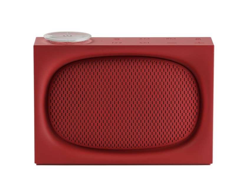 Radio rechargeable Ona bluetooth, ABS, pour Lexon, 2016 (119 €).
