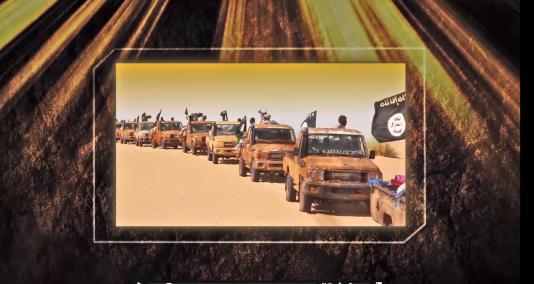 Capture d'écran d'une vidéo d'AQMI.