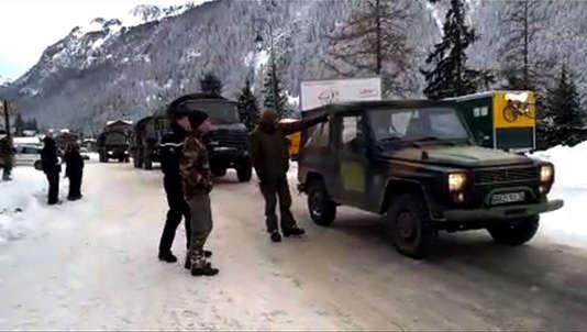 A Valfréjus en Savoie où cinq militaires sont morts lundi 18 janvier emportés par une avalanche.