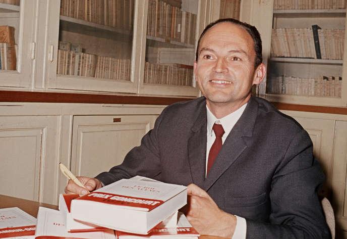 Michel Tournier, en novembre 1970.