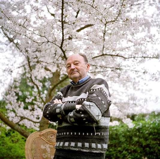 Michel Tournier le 4 avril 2005.
