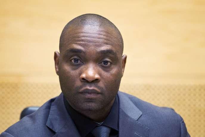 Germain Katanga le 23 mai 2014 à La Haye devant la Cour pénale internationale.