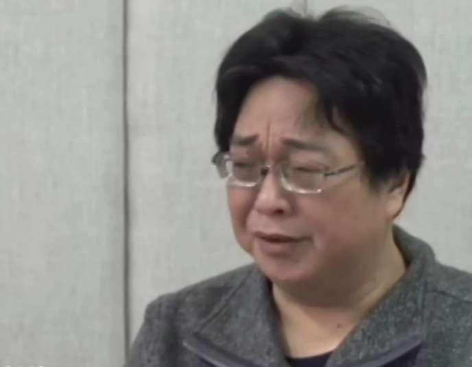 Gui Minhai, lors de ses aveux diffusés par la télévision officielle chinoise, dimanche 17 janvier.