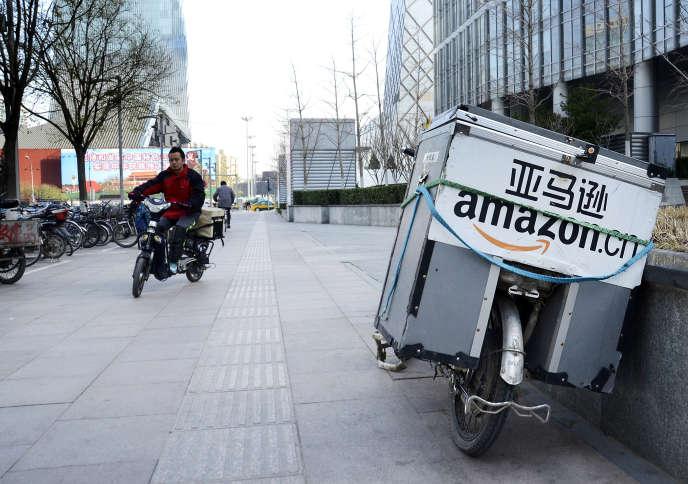 Dans les rues de Pékin.