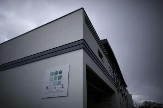 Le bâtiment du laboratoire Biotrial à Rennes le 15 janvier 2016.