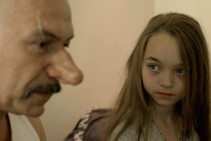 Philippe Torreton et Nastasjia Sojcher dans le documentaire français et belge de Frédéric Sojcher,