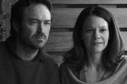 """Sébastien Ricard et Fanny Mallette dans le film canadien (Québec) de François Delisle, """"Chorus""""."""