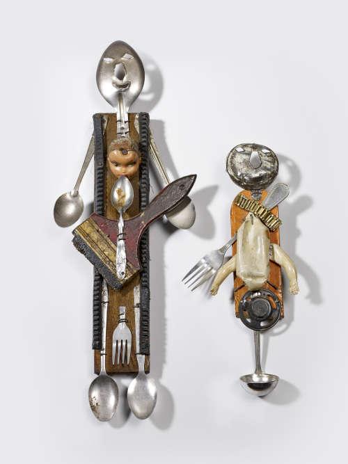 Ces deux objets domestiques ressemblent à des personnages : ils sont conçus comme de « véritables incarnations de divinités ». Aidant les utilisateurs dans leur quotidien, ils peuvent également se retourner contre eux.