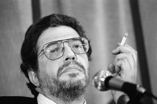 Ettore Scola à Cannes, en 1982.