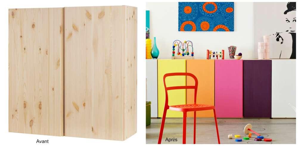 avant apr s le grand d tournement des meubles ikea. Black Bedroom Furniture Sets. Home Design Ideas