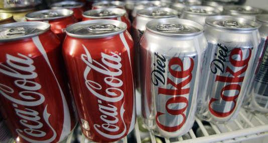 Canettes de Coca-Cola à Portland, Oregon.