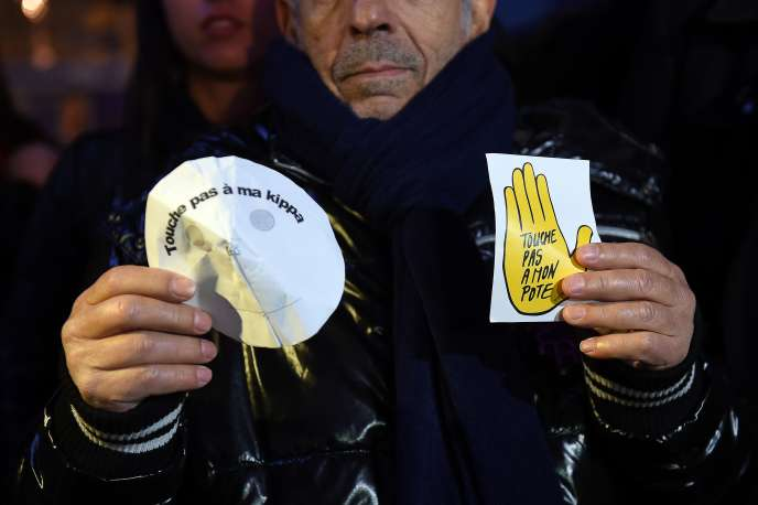 Manifestation le 19 janvier à Marseille après l'agression au couteau d'un professeur juif.