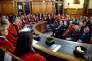 Rentrée solennelle du tribunal de grande instance de Paris en présence de Christiane Taubira, lundi 18janvier.