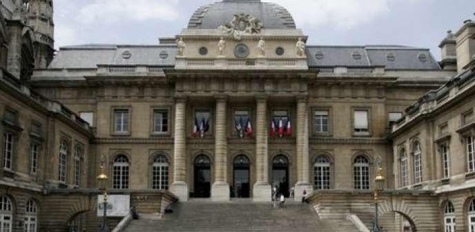 Le Palais de justice à Paris