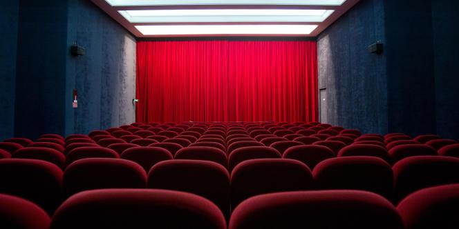 Une salle de cinéma à Paris le 19 janvier 2011.