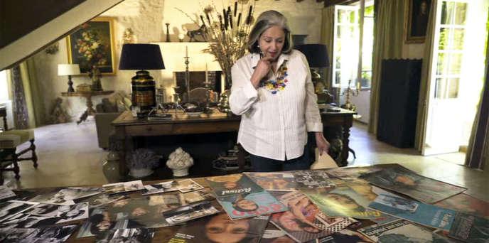 La comédienne Françoise Fabian.