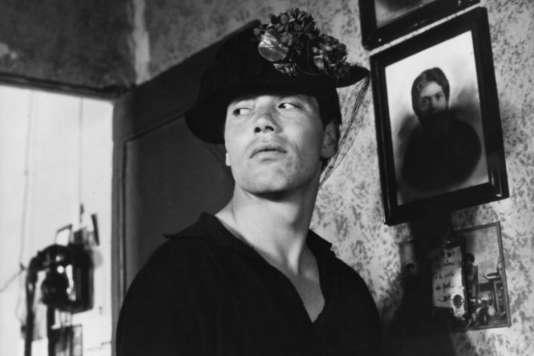 """Franco Citti dans """"Accatone"""", de Pier Paolo Pasolini (1961)."""