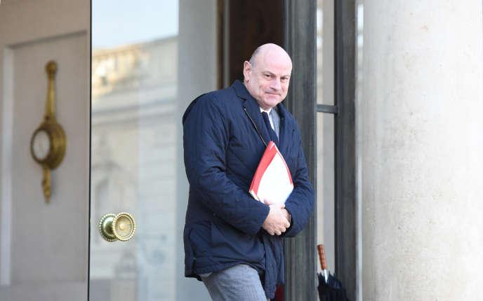 Le secrétaire d'Etat aux relations avec le Parlement, Jean-Marie Le Guen, le 20 janvier.