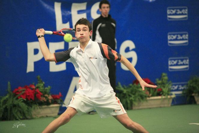 Quentin Halys a remporté le tournoi des Petits As en 2010. Il est aujourd'hui le 183ejoueur mondial.