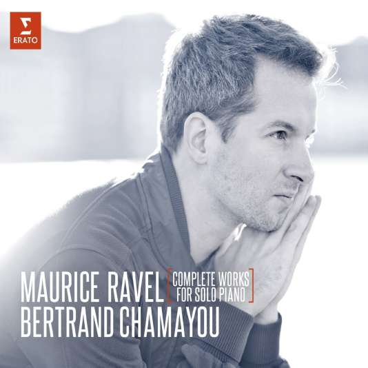 Pochette de l'album «Complete Works for Solo Piano», de Maurice Ravel, par le pianiste Bertrand Chamayou.