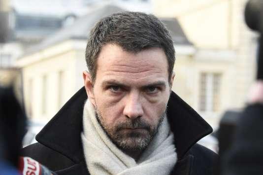 L'ancien trader Jérôme Kerviel, devant la cour d'appel de Versailles, le 20 janvier.