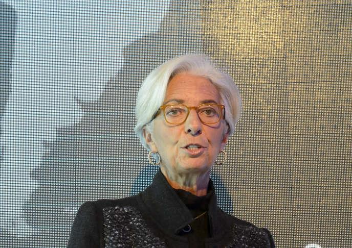 La directrice du Fonds monétaire international, Christine Lagarde, est candidate à un deuxième mandat à la tête de l'institution.