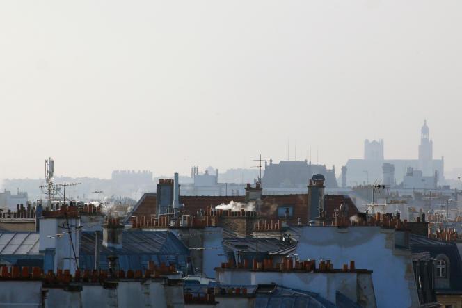 Un épisode de pollution à Paris en janvier 2016.