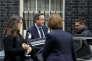 Le premier ministre britannique David Cameron devant le 10 Downing Street, le 20 janvier 2016.