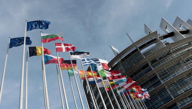 Le Parlement européen à Strasbourg.   AFP PHOTO / FREDERICK FLORIN / AFP / FREDERICK FLORIN