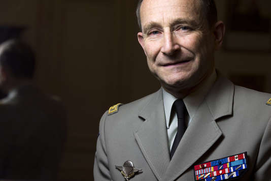 Le chef d'état-major des armées Pierre de Villiers, en janvier 2014.