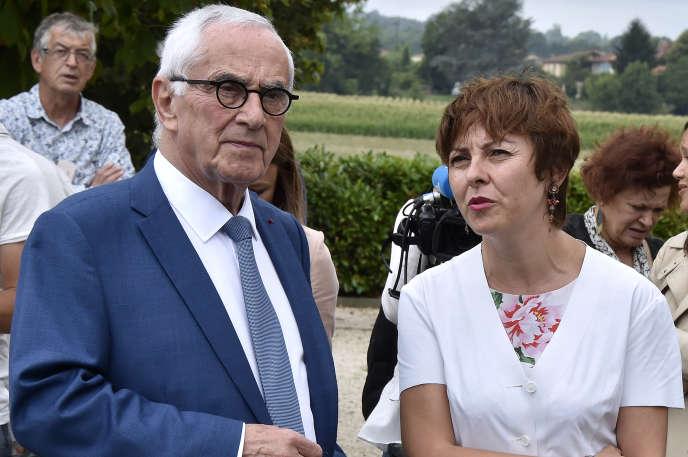 Martin Malvy (à gauche), président de l'Association nationale des villes et pays d'art et d'histoire.