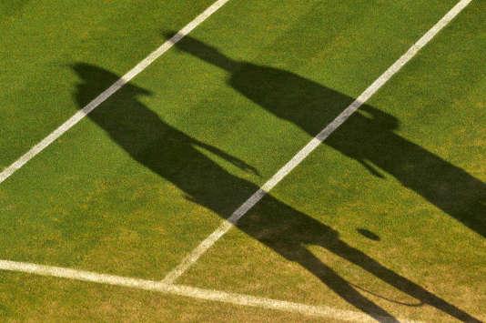 Un match à Wimbledon, en juillet 2015.