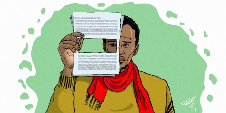 Un paragraphe entier du récit de vie de Souleymane a disparu à la traduction.
