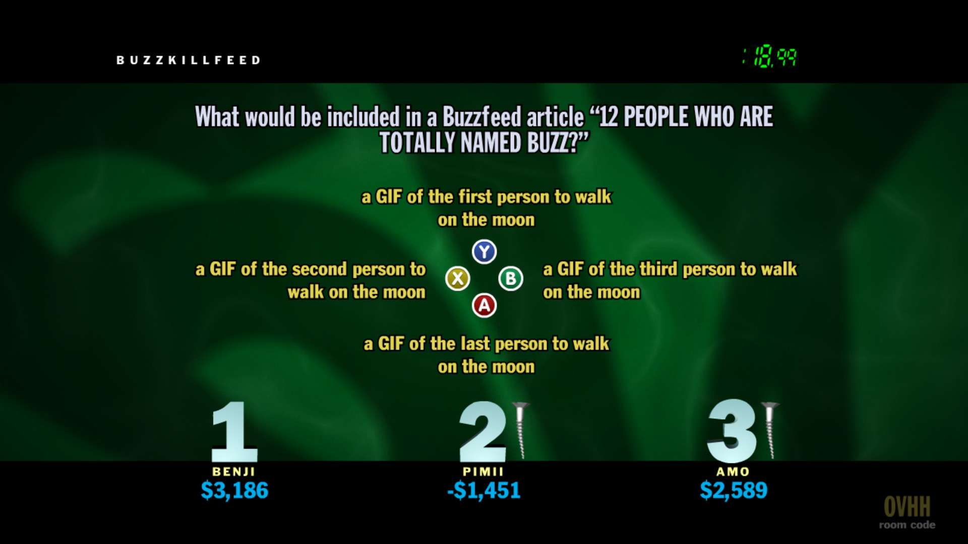 Un jeu de quiz particulièrement bien écrit et animé.