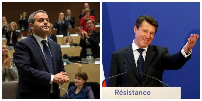 Les candidats qui ont renoncé : les présidents de régions Xavier Bertrand et Christian Estrosi.