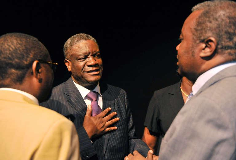 Le gynécologue congolais Denis Mukwege à Kinshasa, en mars 2013.