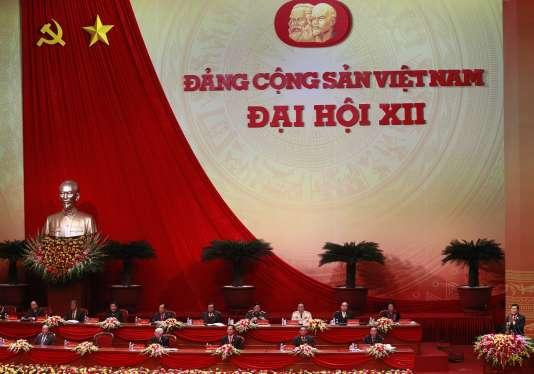 Le XIIe congrès du Parti communiste vietnamien s'est ouvert jeudi 21 janvier, à Hanoï.