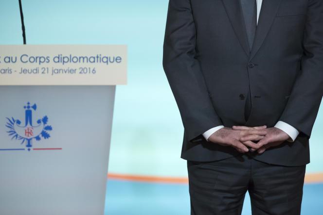 François Hollande, président de la République, jeudi 21 janvier