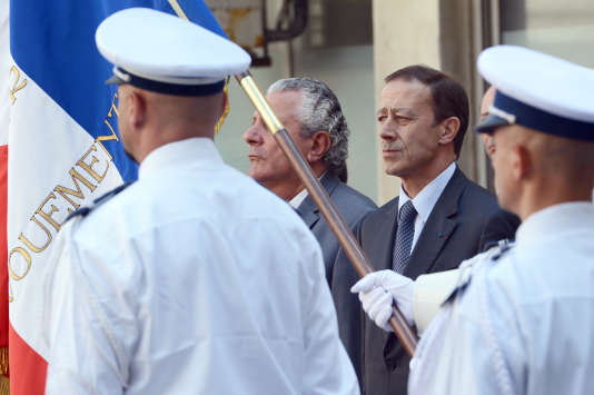 Alain Gardère en 2012 lorsqu'il était préfet délégué pour la sécurité et la défense à Marseille.
