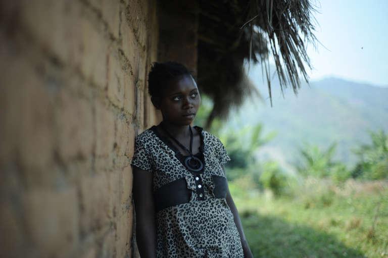 Une femme victime de viol par des soldats de l'armée congolais à Nakiele, au Sud-Kivu, en juillet 2011.