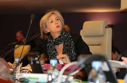 La présidente de la région Ile-de-France, à Paris, le 21 janvier.