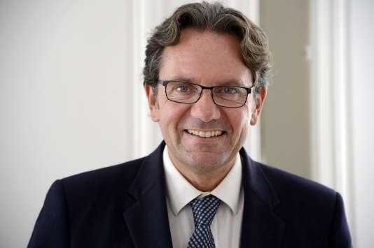 Frédéric Lefebvre s'est déclaré candidat à la primaire de la droite et du centre.